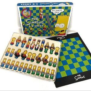 Vintage • 1992 Simpsons 3-D Chess Set